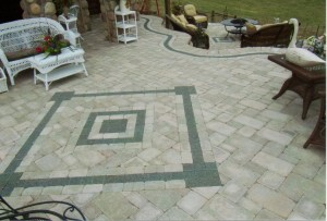 Accent in patio