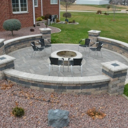 Patio Firepit Area